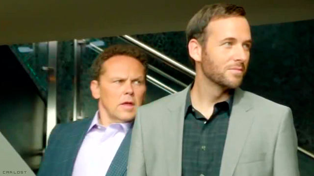 Kevin Chapman (Lionel Fusco) & Ryan O'Nan (Andre) en Person of Interest 4x03 Wingman
