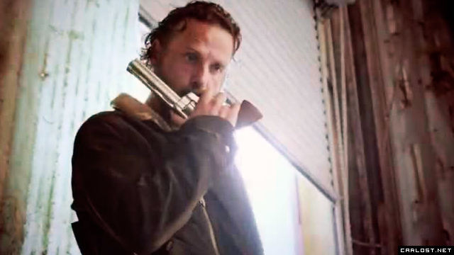 Rick Grimes (Andrew Lincoln) en The Walking Dead Temporada 5