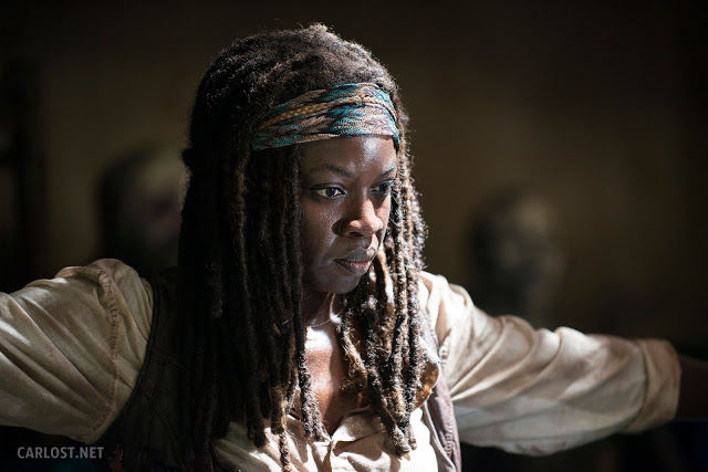 Michonne (Danai Gurira) en The Walking Dead 5x02 Strangers