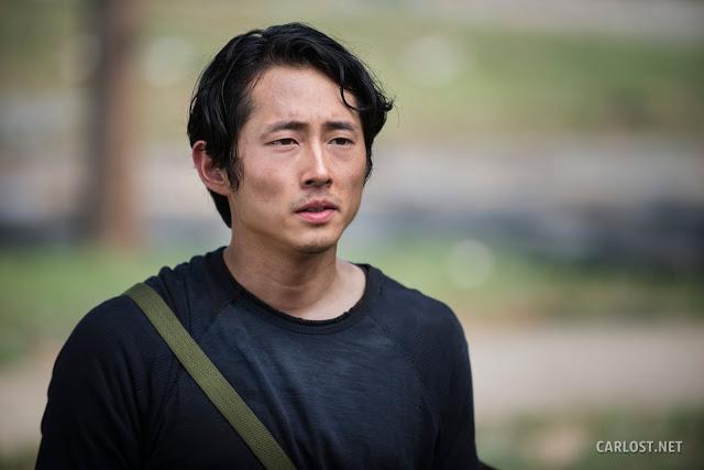 Glenn Rhee (Steven Yeun) en The Walking Dead 5x02 Strangers