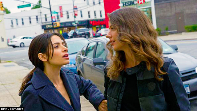 Shaw (Sarah Shahi) y Root (Amy Acker) en Person of Interest 4x09 The Devil You Know