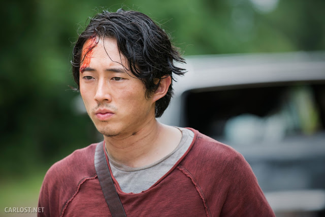Glenn (Steven Yeun) en The Walking Dead 5x05 Self Help