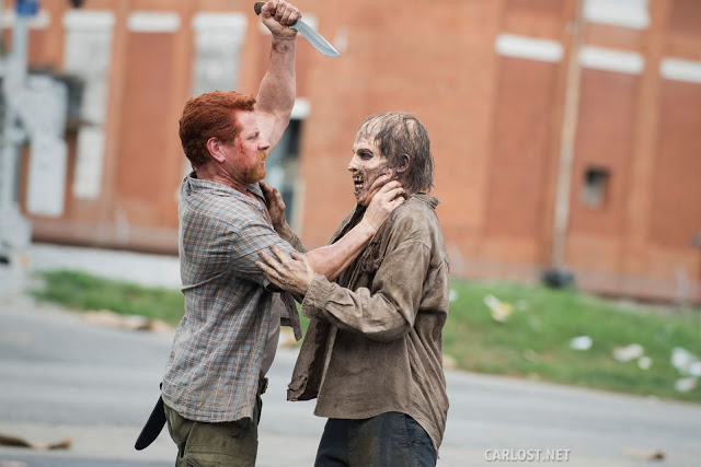 Abraham Ford (Michael Cudlitz) en The Walking Dead 5x05 Self Help
