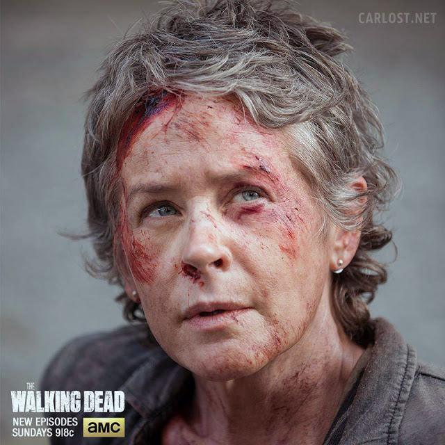 Carol Peletier (Melissa McBride) en The Walking Dead 5x06 Consumed