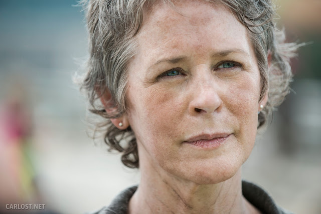 Carol Peletier (Melissa McBride) en The Walking Dead 5.06 Consumed