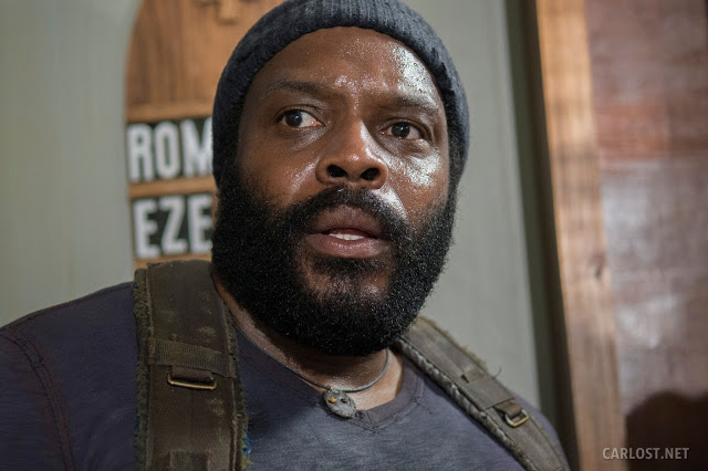 Tyreese (Chad Coleman) en The Walking Dead 5x07 Crossed