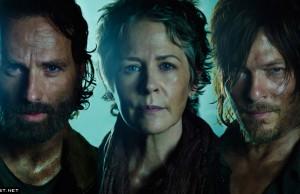 Retratos The Walking Dead 2015