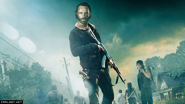 The Walking Dead Poster Temporada 5 2015