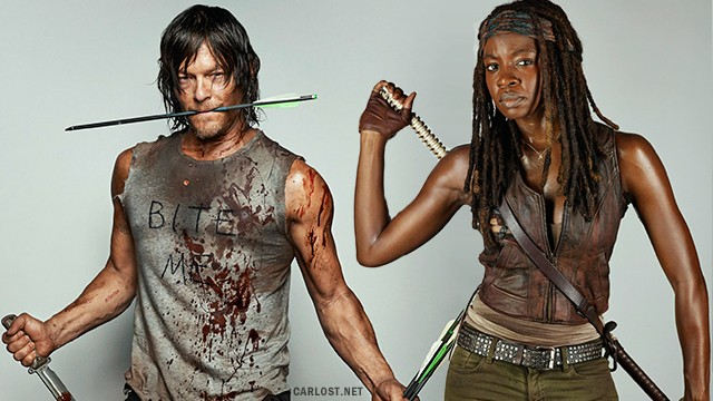 The Walking Dead - EW Photoshoot (2015)