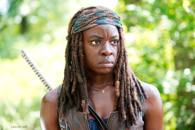 Michonne (Danai Gurira) en The Walking Dead 5x09 What Happened and What's Going On