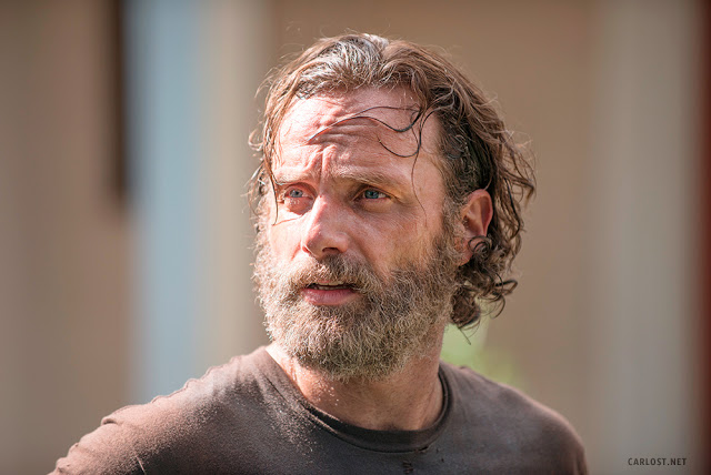 Rick Grimes (Andrew Lincoln) en The Walking Dead 5x09 What Happened and What's Going On