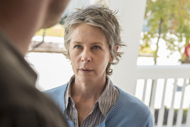 Carol Peletier (Melissa McBride) en The Walking Dead 5x14 Spend