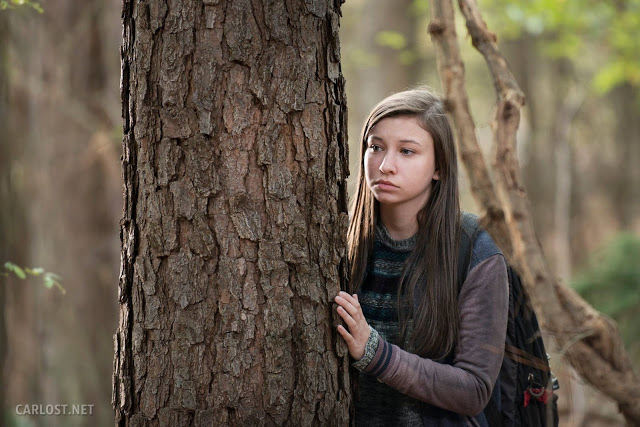 Enid (Katelyn Nacon) en The Walking Dead 5x15 Try