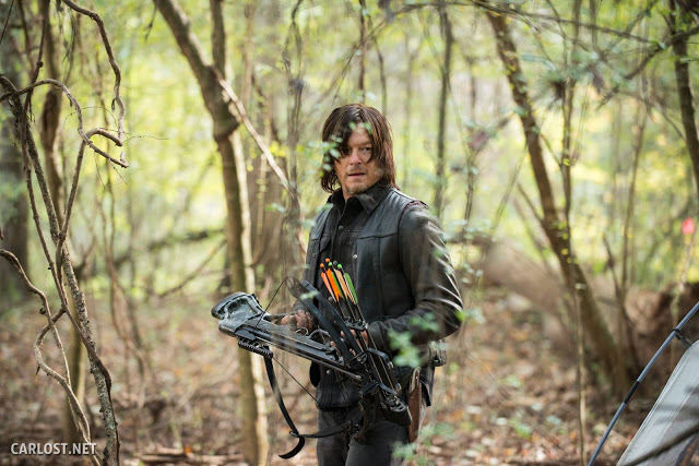 Daryl Dixon (Norman Reedus) en The Walking Dead 5x15 Try