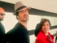 Ian Somerhalder en Chile junto a Nikkie Reed