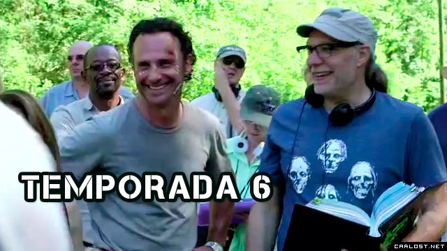 The Walking Dead 6x01 Behind The Scenes