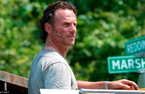 Rick Grimes (Andrew Lincoln) en The Walking Dead Temporada 6 (2015)