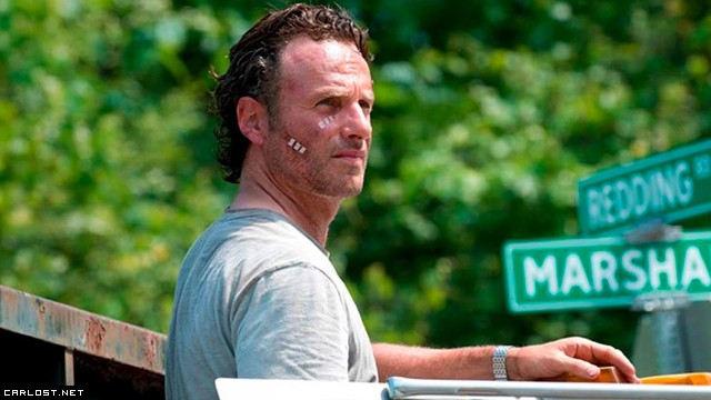 Rick Grimes (Andrew Lincoln) en The Walking Dead Temporada 6 (2015)