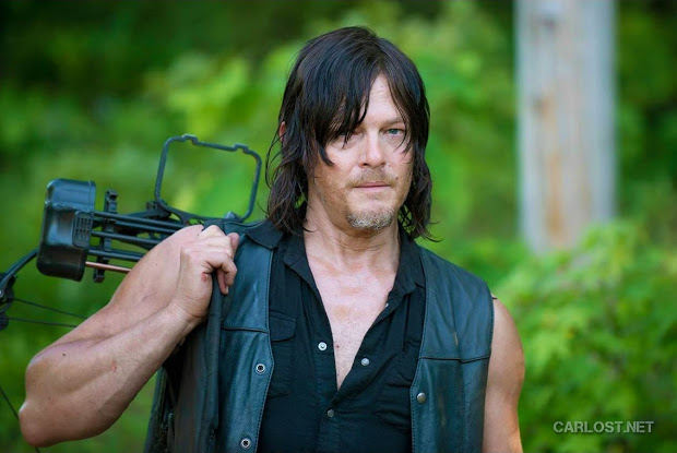 Daryl Dixon (Norman Reedus) en The Walking Dead Temporada 6 (2015)