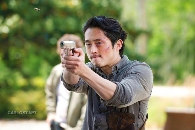 Glenn (Steven Yeun) en The Walking Dead Temporada 6 (2015)