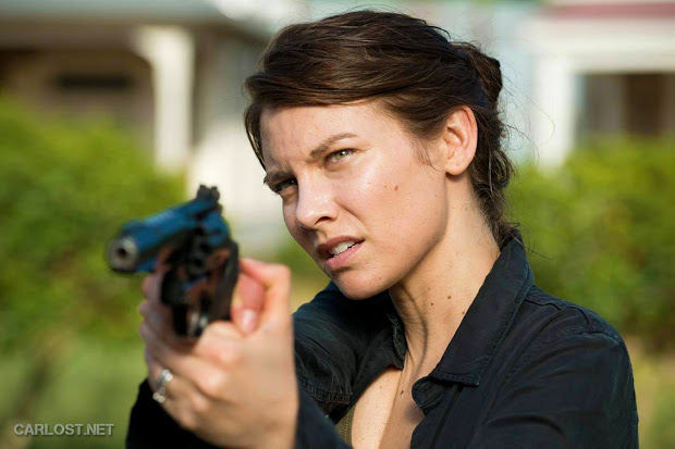 Maggie Greene (Lauren Cohan) en The Walking Dead Temporada 6 (2015)