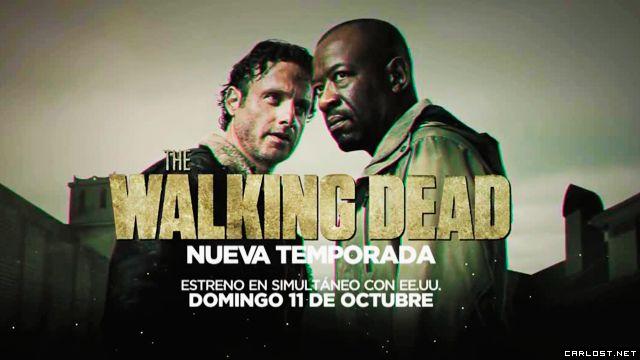 FOX+ estrenará The Walking Dead el 11 de Octubre y sin cortes