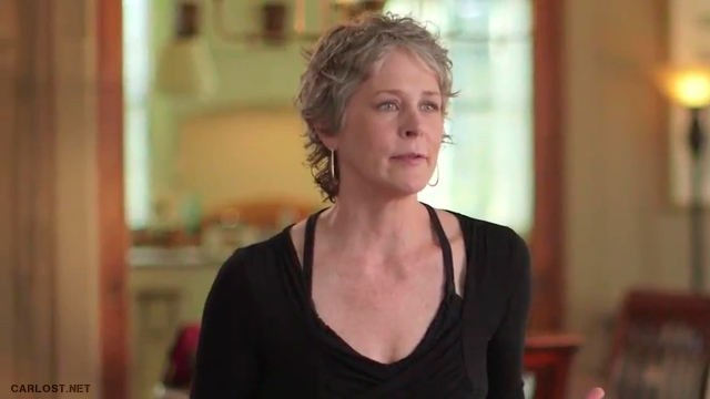 Melissa McBride (Carol) - The Walking Dead 6