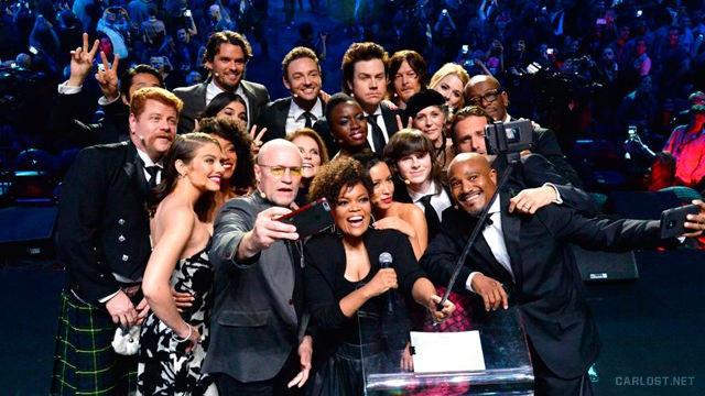 The Walking Dead Selfie