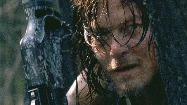 Daryl Dixon (Norman Reedus) en The Walking Dead 6x06