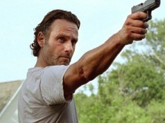 Rick Grimes (Andrew Lincoln) en The Walking Dead 6x07 Heads Up