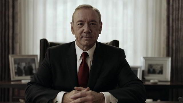 Frank Underwood en House of Cards Temporada 4 Promo