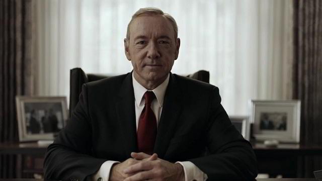 Frank Underwood en House of Cards Temporada 4 Promo