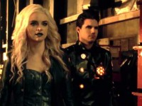 The Flash Temporada 2 - Caitlin Snow (Danielle Panabaker) y Ronnie Raymond (Robbie Amell)
