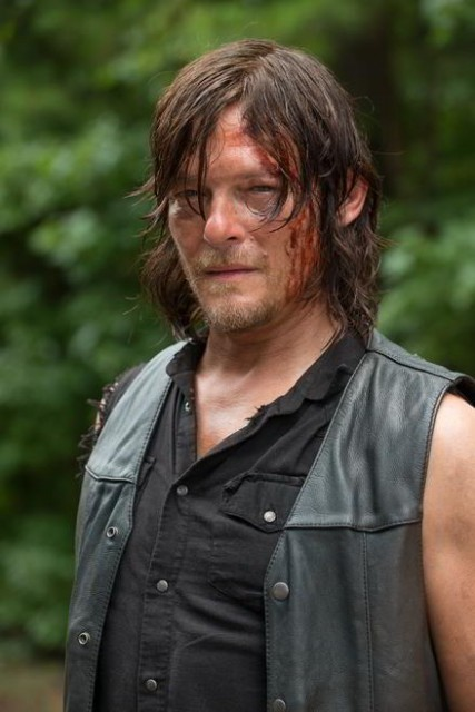 Daryl Dixon (Norman Reedus) en The Walking Dead 6x09 No Way Out