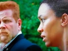 Abraham y Sasha en nueva escena de The Walking Dead 6x09 No Way Out