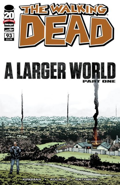 Portada Cómic The Walking Dead #93