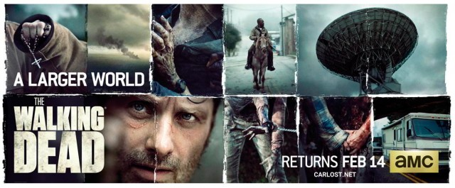 The Walking Dead Temporada 6 Poster Banner HQ 2016