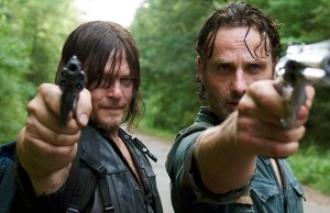 Daryl y Rick en The Walking Dead 6x10 The Next World