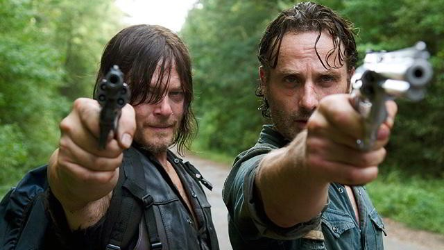 Daryl y Rick en The Walking Dead 6x10 The Next World