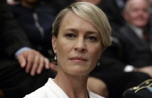 Claire Underwood (Robin Wrigh) en el tráiler de la cuarta temporada de House of Cards