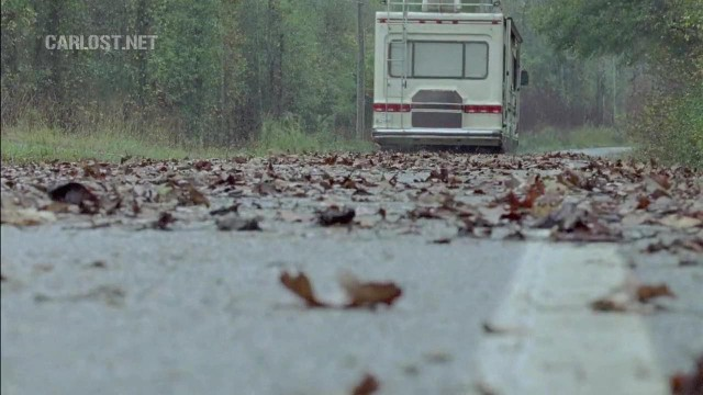 (Spoiler) El grupo viajando en The Walking Dead 6x11 Knots Untie