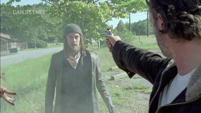 (Spoiler) Rick amenaza a Jesus en The Walking Dead 6x11 Knots Untie