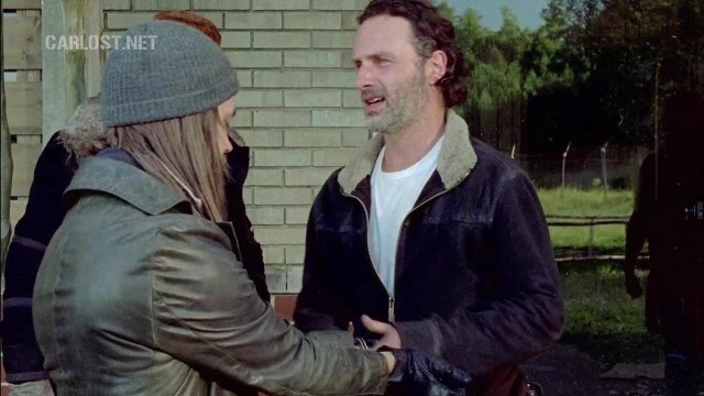 (Spoiler) Rick,esposa a Jesus en The Walking Dead 6x11 Knots Untie