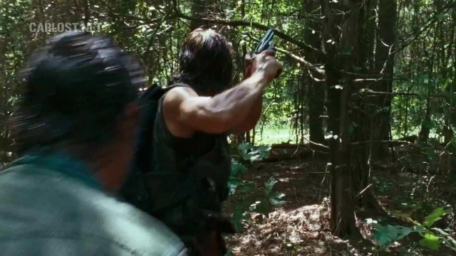 (Spoiler) Rick y Daryl en The Walking Dead 6x10 The Next World