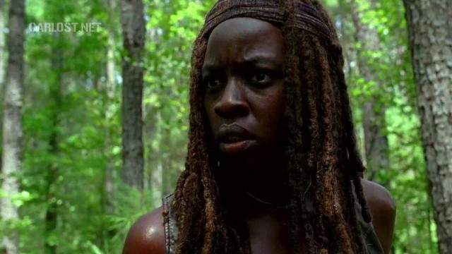 (Spoiler) Michonne en The Walking Dead 6x10 The Next World