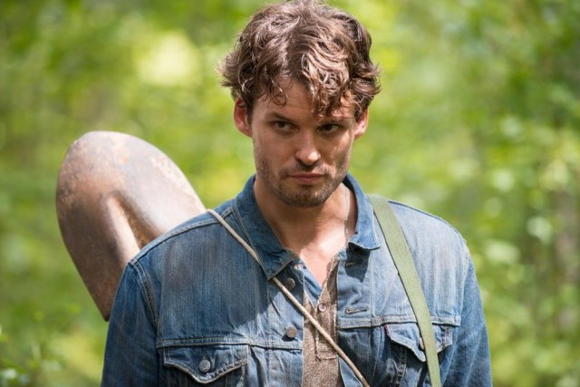 Austin Nichols como Spencer Monroe en The Walking Dead 6x10
