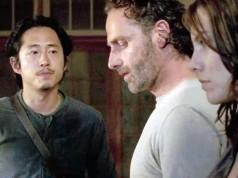 Glenn, Rick y Maggie en The Walking Dead 6x12 Not Tomorrow Yet (Promos + Sneak Peeks)