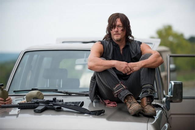 Norman Reedus como Daryl Dixon en The Walking Dead 6x12 Not Tomorrow Yet