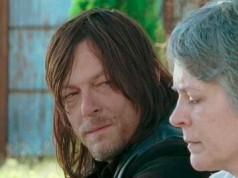 Daryl y Carol en The Walking Dead 6x14 Twice As Far
