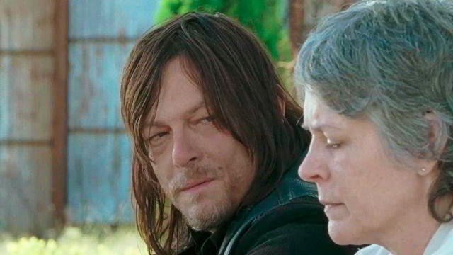 Daryl y Carol en The Walking Dead 6x14 Twice As Far